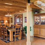 hill-log-home-dining-room