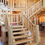 hill-log-home-staircase