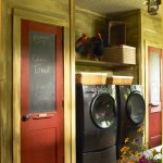 The laundry room provides a new level of style to common household chores.