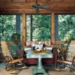Kuhns Bros. Log Homes Porch