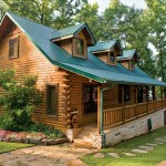 Custom Crafted Lakefront Cabin Exterior