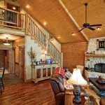 Custom Crafted Lakefront Cabin Great Room
