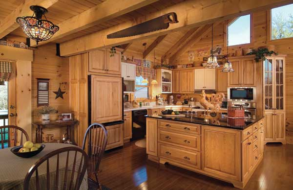 Page not found log home living for Log cabin kitchen islands