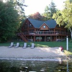 Maine Cedar Log Homes 1