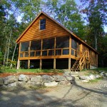 Maine Cedar Log Homes 3
