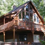 Maine Cedar Log Homes 4
