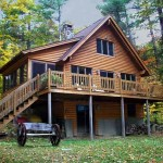 Maine Cedar Log Homes 5