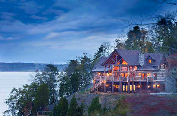 Great escape a tennessee vacation log home for Vacation log homes