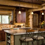 Kitchen in the Log Home photo 12