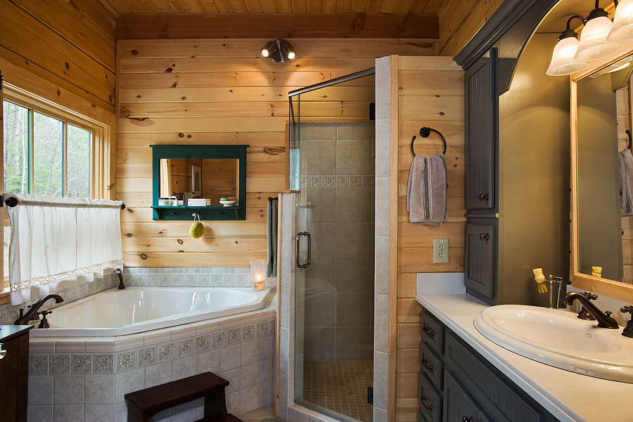 Stunning Log Cabin Master Bathrooms 900 x 601 · 174 kB · jpeg