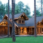 Handcrafted Log Home Exterior photo 2