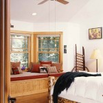 Hybrid Log Home Bedroom