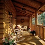 The home's porches and decks allow the Tysingers to fully enjoy their quiet surroundings. They often spend evenings watching wildlife in the meadow below the cabin.