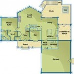 Iowa Energy-Efficient Home Main Floor Plan