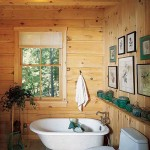 Kuhns Bros. Log Homes Bathroom