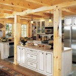Kuhns Bros. Log Homes Kitchen