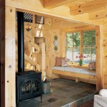 Kuhns Bros. Log Homes Wood Stove