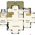 Montana Log Home Plan