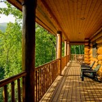 Tranquil North Carolina porch