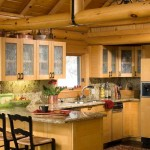 Although the rest of the original ski lodge wasn't designed for family living, the kitchen was already perfect. Bonnie found the slate flooring and granite counters to her liking.