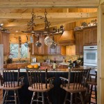 """Dillie designed the open kitchen to encourage guests to congregate around the island. """"Some even dive right in and help with the cooking,"""" she says."""