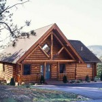 Smoky Mountain log home exterior