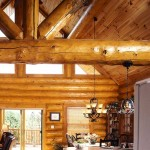 Smoky Mountain log home kitchen