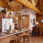 Smoky Mountain log home dining room