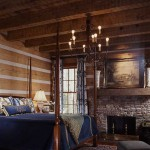 Each bedroom fireplace is crafted from Tennessee stacked stone.