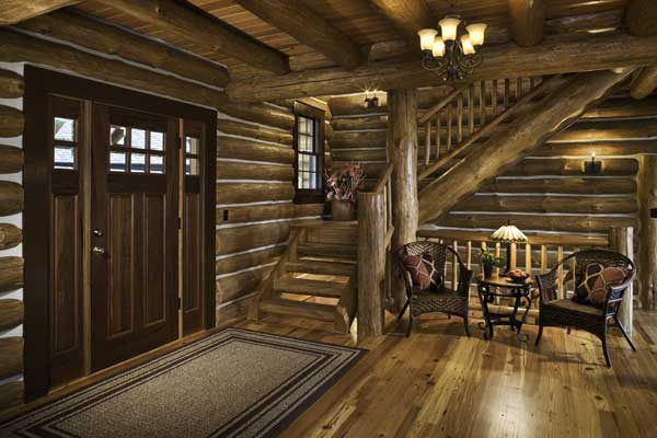 Home Away from Home: A Weekend Home in Western Virginia - LogHome