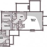 Wisconsin Accessible Cabin Upper Level Plan