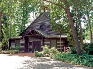 Built in 1931, the Cathedral of the Woods in Medford Lakes, New Jersey, has attracted lovestruck couples for decades. Photo: Cleo McCall