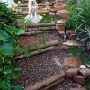 Special pathways will prevent worn areas in your yard and give your dog a place it feels it can roam.