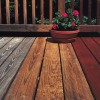 Deck stain for cabins