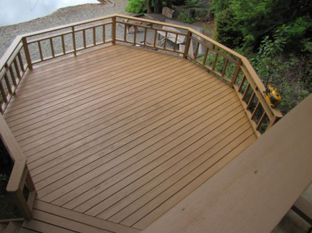 Log Home Deck Care After