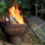 Plow & Hearth Weather-Resistant Large Outdoor Fire Bowl