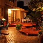 An outdoor retreat is complete with Tigerwood Decking