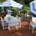 A Cumaru Deck makes the perfect outdoor entertaining area