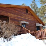 "Our Tigerwood Siding is a unique alternative to ""traditional"" log home exteriors"