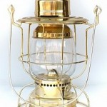 """Watchman"" – Electric Signal Lantern – Solid Brass"