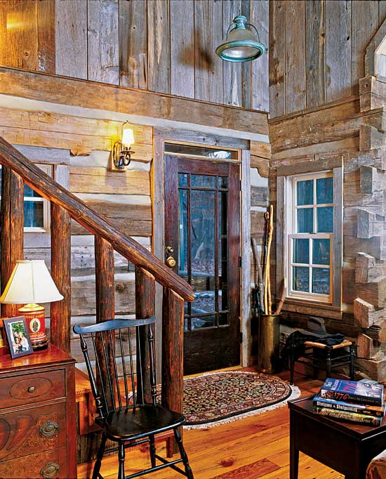 Timeless Treasure: A Vintage Log Home In Georgia
